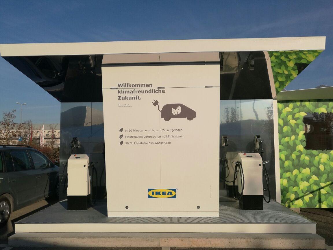 Eine Zweitnutzung für Nissan Leaf 24kWh Akkus - Spitzenlastvermeidung in der Chargelounge 2.0